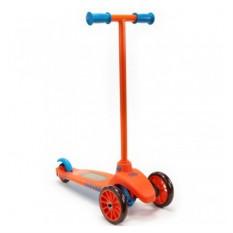 Оранжево-голубой самокат LittleTikes