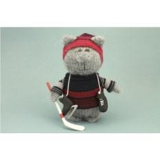 Мягкая игрушка Кот-хоккеист
