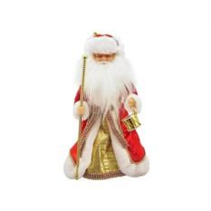 Дед Мороз в красном, анимация, звук, 40 см