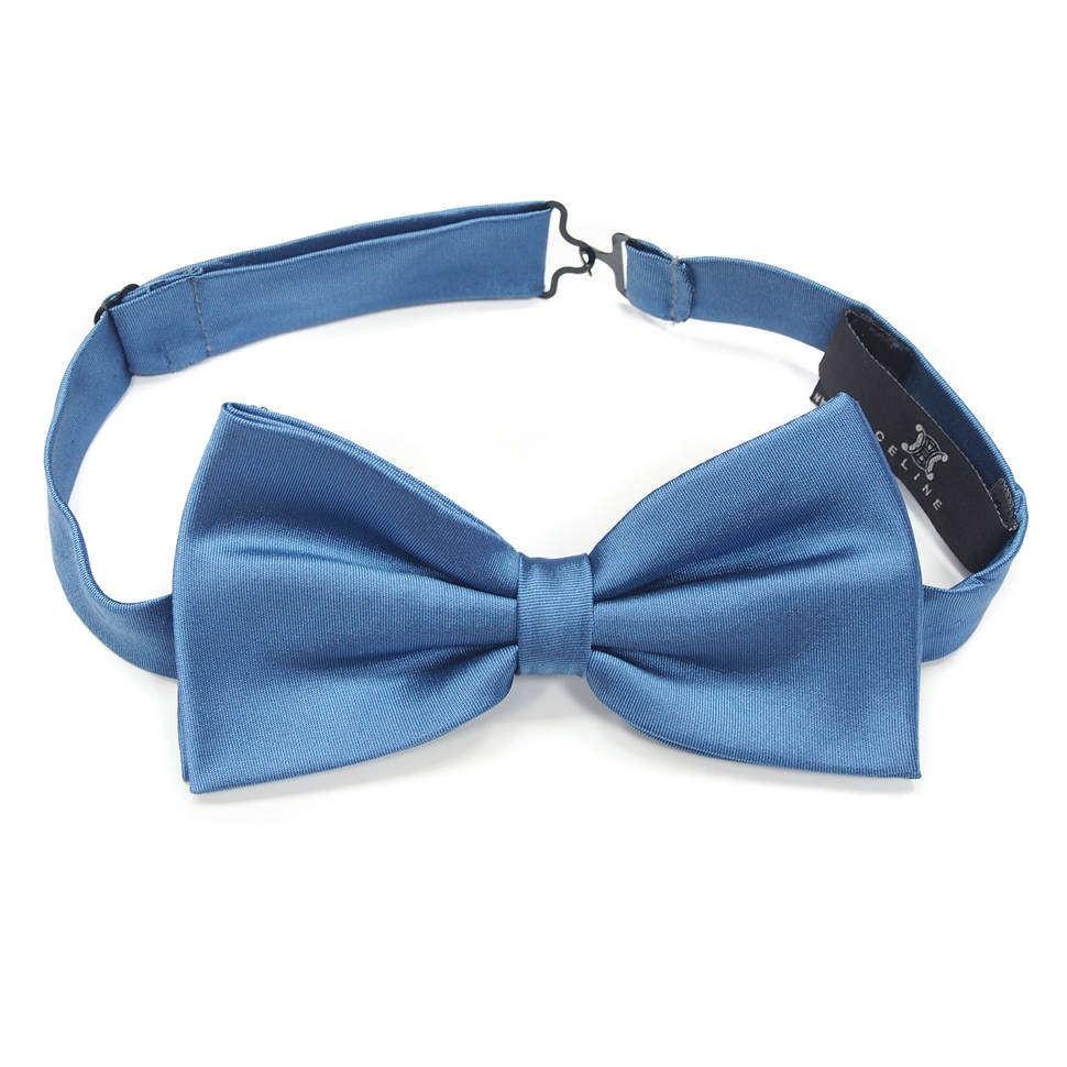 Светло-синий галстук бабочка Celine