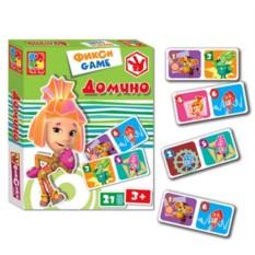 Домино для детей «Фиксики»