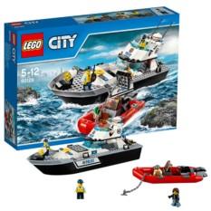 Конструктор Lego City Полицейский патрульный катер