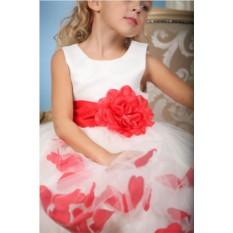 Нарядное платье для девочки Emilia Spanish «Красный цветок»