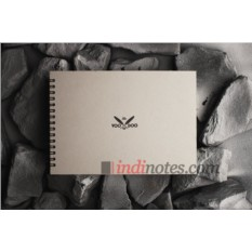Cкетчбук-блокнот с серой бумагой Voodoo Books Yeti Book