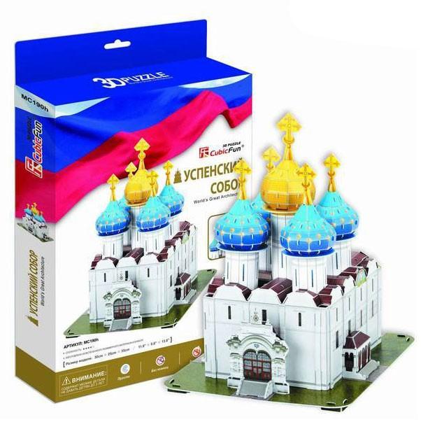 3D Пазл Успенский собор. Троице-Сергиева Лавра