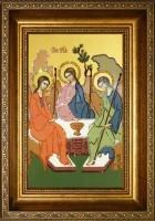 Картина Swarovski  Икона Святая Троица