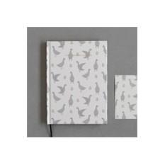 Блокнот с открыткой Animals Duck