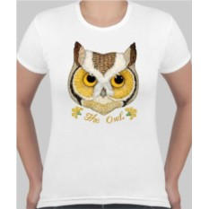 Женская футболка Сова The owl