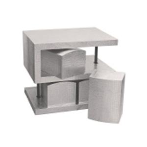 S-образный стол + 4 стула «Кайман»