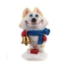 Декоративная фигурка Собака с колокольчиком