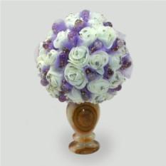 Цветы из аметиста Аметистовая свадьба
