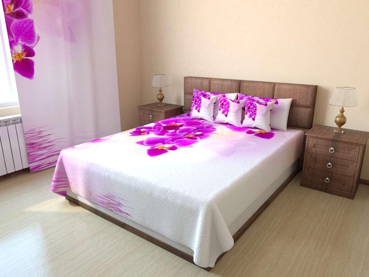 Фотопокрывало Розовые орхидеи 2