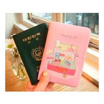 Обложка для паспорта Stepping out