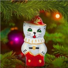 Елочная игрушка «Кот в сапогах»