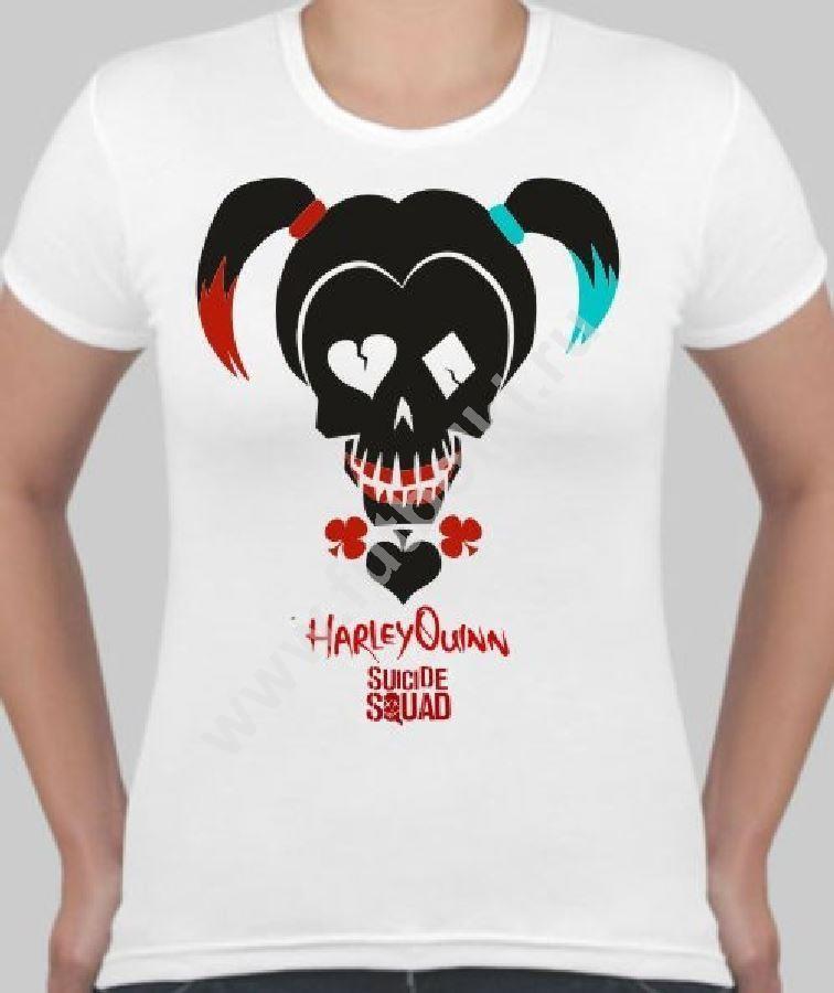 Женская футболка Отряд самоубийц. Харли Квинн