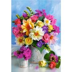 Пазл Castorland 1500 деталей Букет цветов