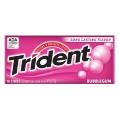 Жвачка Trident Bubblegum
