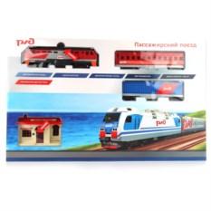Игрушечная железная дорога Пассажирский поезд ржд