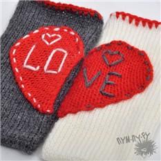Набор чехлов для телефона Половинки одного сердца