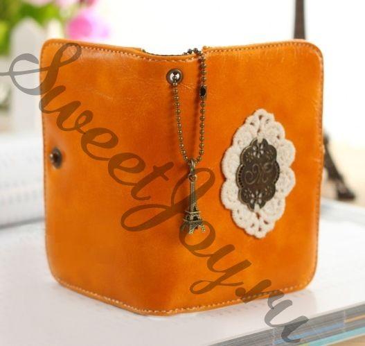 Держатель для карточек Lace Card (Оранжевый)