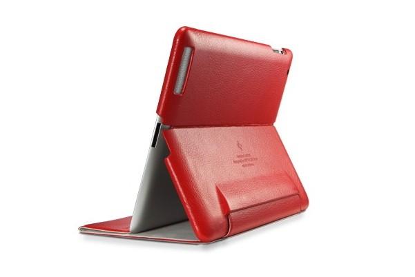 Чехол SGP Leinwand для iPad2, красный