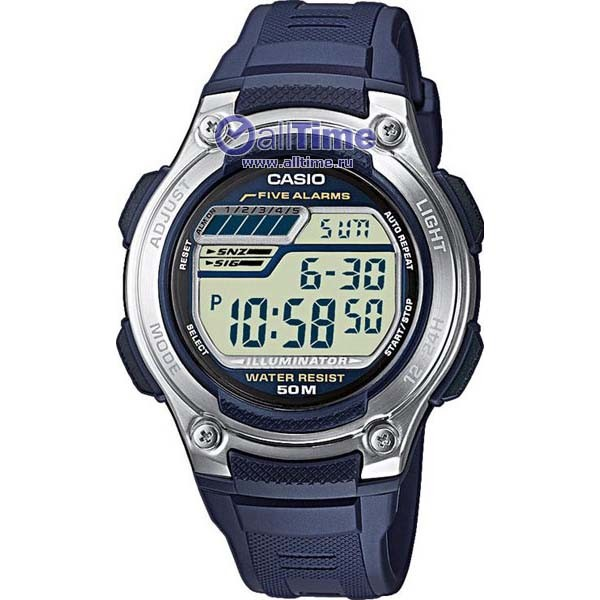 Мужские часы Casio (Электроника W-212H-2A)