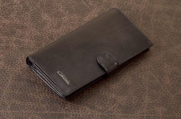 Портмоне. Коллекция G.Ferretti (черный, кожа)