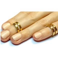Кольцо на фалангу пальца Судьба (золото, 585)