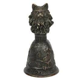 Бронзовый колокольчик Персидская кошка