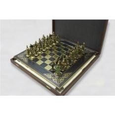 Металлический шахматный набор Киевская Русь
