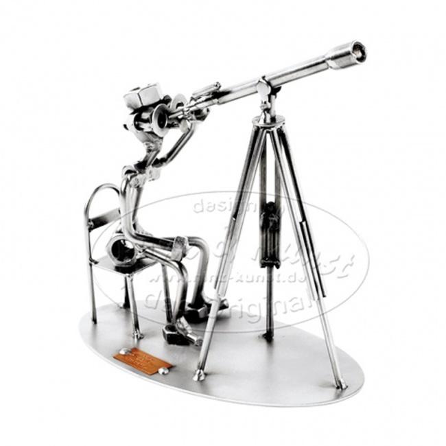 Статуэтка из металла Астроном, HINZ&KUNST