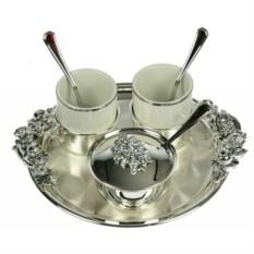 Кофейный сервиз Серебряная услада