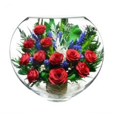 Композиция из красных роз Natural Flower Products