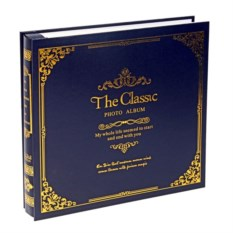 Синий фотоальбом The Classic в коробке