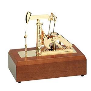 Макет буровой установки с музыкой