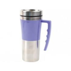 Фиолетовая кружка с термоизоляцией на 450 мл