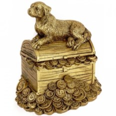 Золотая копилка На сундуке