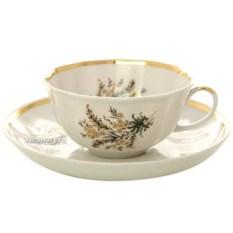 Фарфоровый чайный сервиз на 6 персон Нина