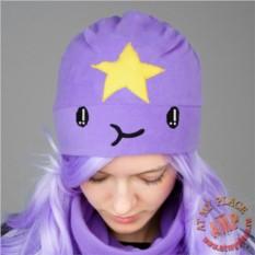 Фиолетовая шапка Принцесса Пупырка