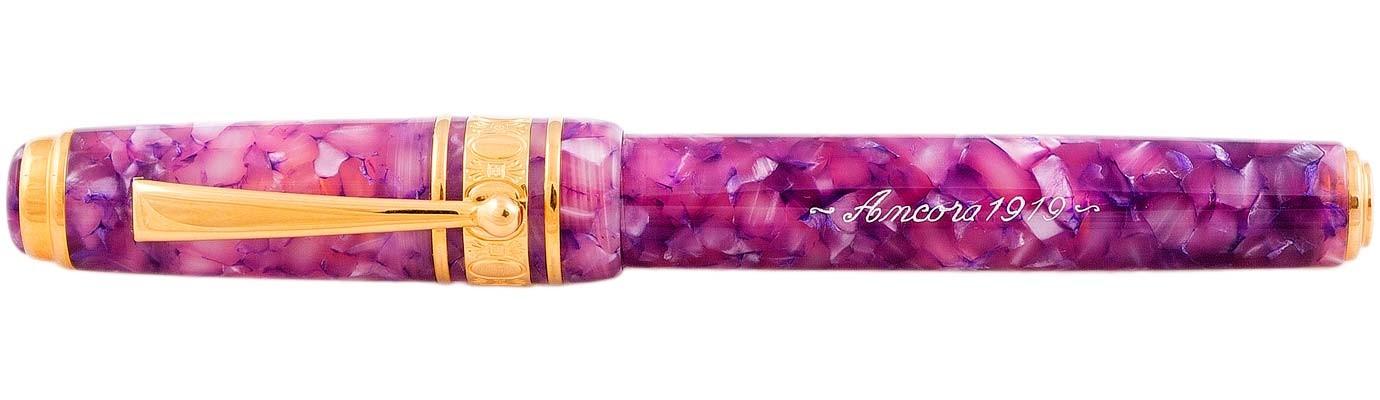 Ручка-роллер Ancora Maxima Colour Purple Gold