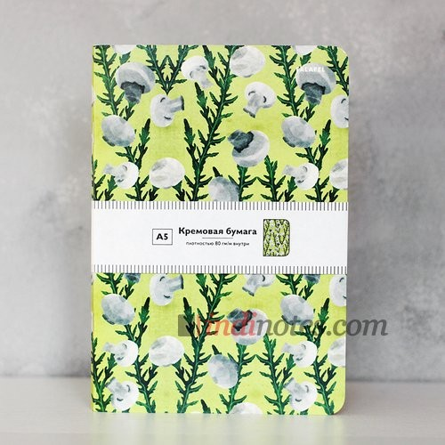 Скетчбук-тетрадь Falafel books Mushroom