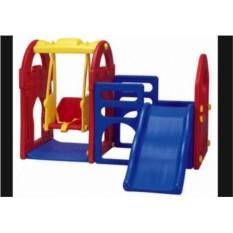 Игровой комплекс с качелями и горкой Haenim toys