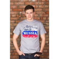 Именная мужская футболка Патриот