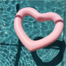 Надувной круг Сердце