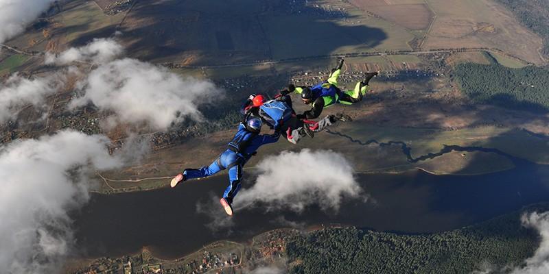 Сертификат Начальный курс обучения прыжкам с парашютом