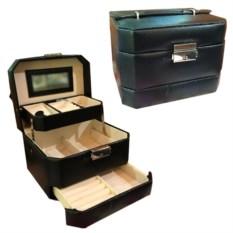 Перламутровая шкатулка-автомат в подарочной упаковке