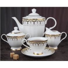 Фарфоровый чайный сервиз на 15 предметов Империал