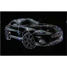 Картина с кристаллами Сваровски Спортивный автомобиль