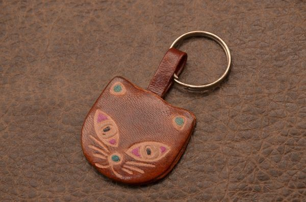Брелок для ключей из кожи Socotra