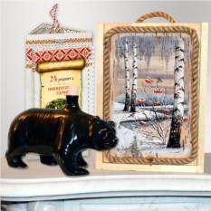 Подарочный набор Сибирь и медведь